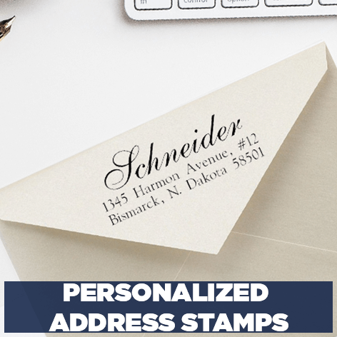 Custom Rubber Stamps Address Stamps More 904 Custom