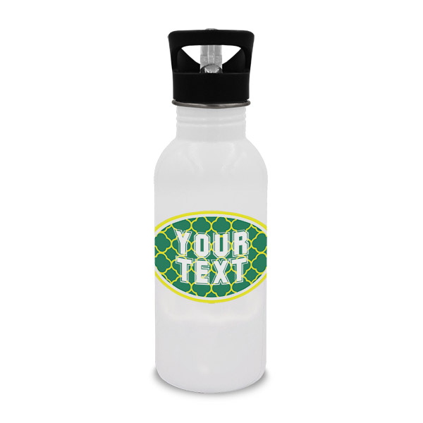 Oregon Inspired Green and Yellow Collegiate Water Bottle