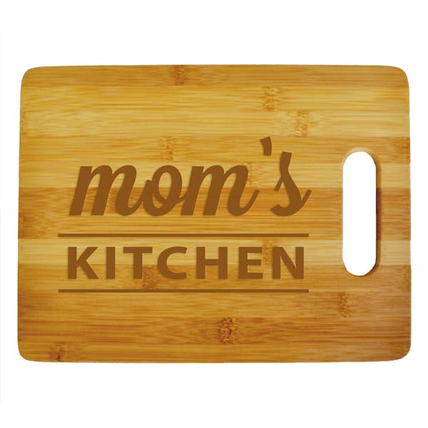 Mom's Kitchen Cutting Board