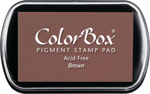 Clearsnap® Color Box® Brown Pigment Ink