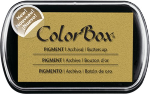 Clearsnap® Color Box® Buttercup Pigment Ink