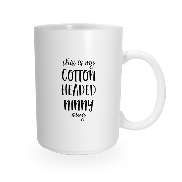 Cotton Headed Coffee Cup