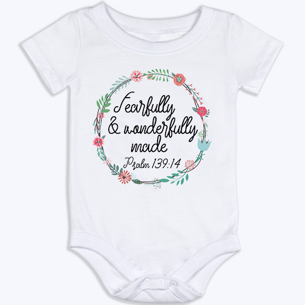 Fearfully Made Onesie