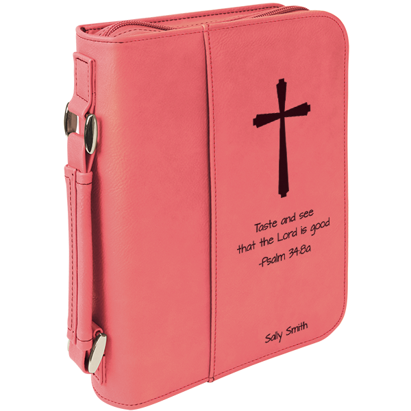 Taste And See Cross Bible Cover 904 Custom