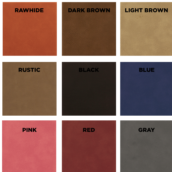 Leatherette Color Options