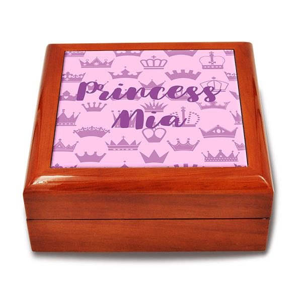 Crowned Royal Custom Keepsake Box