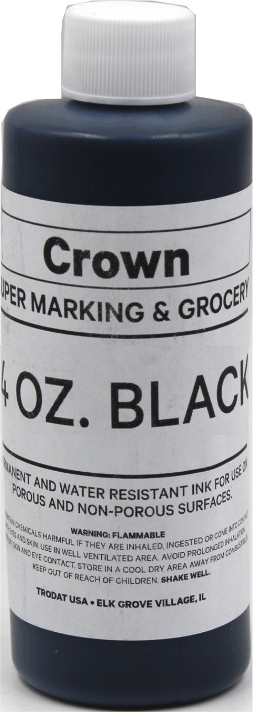 Black 4oz SuperMarking Ink