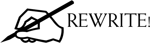 Feedback - Rewrite Teacher Stamp - hand holding pencil