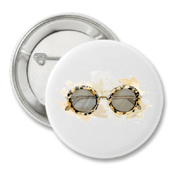 Groupie Shades Fashion Button by The AG Studio