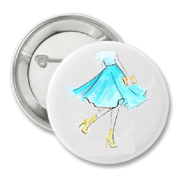 Spring is Here Fashion Button by The AG Studio