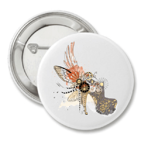 Timeless Beauty Fashion Button by The AG Studio