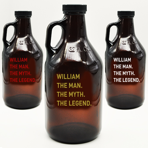 Amber Growler Custom Man Myth Legend