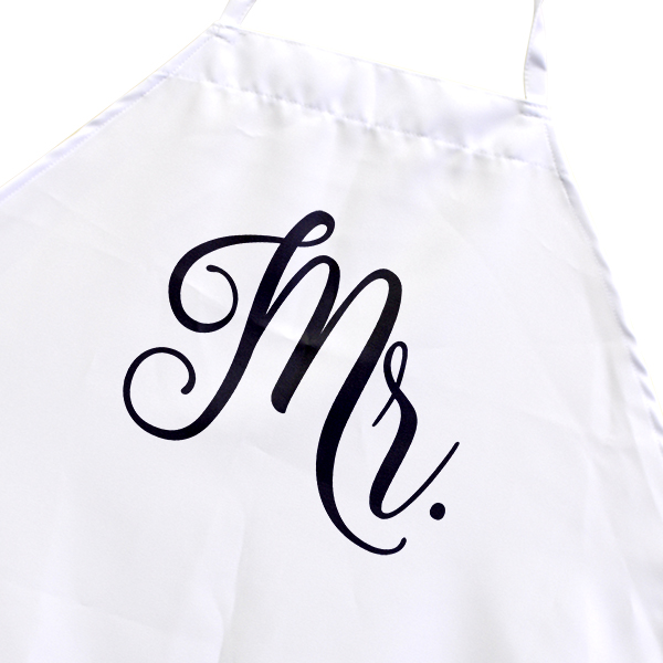 Newlyweds Mr. Cooking Apron