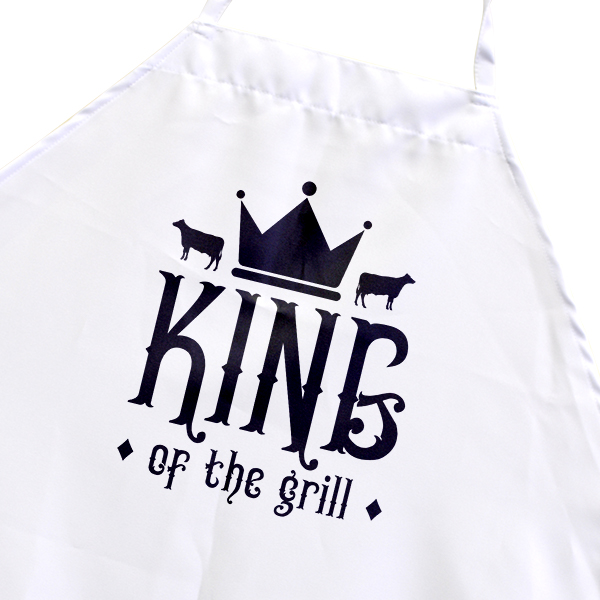 King of the Grill Men's Cooking Apron
