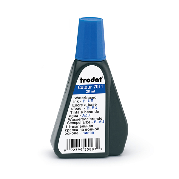 Blue 1 oz Refill Ink - Self Inking