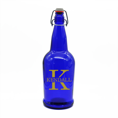 Blue Growler Last Name Initial