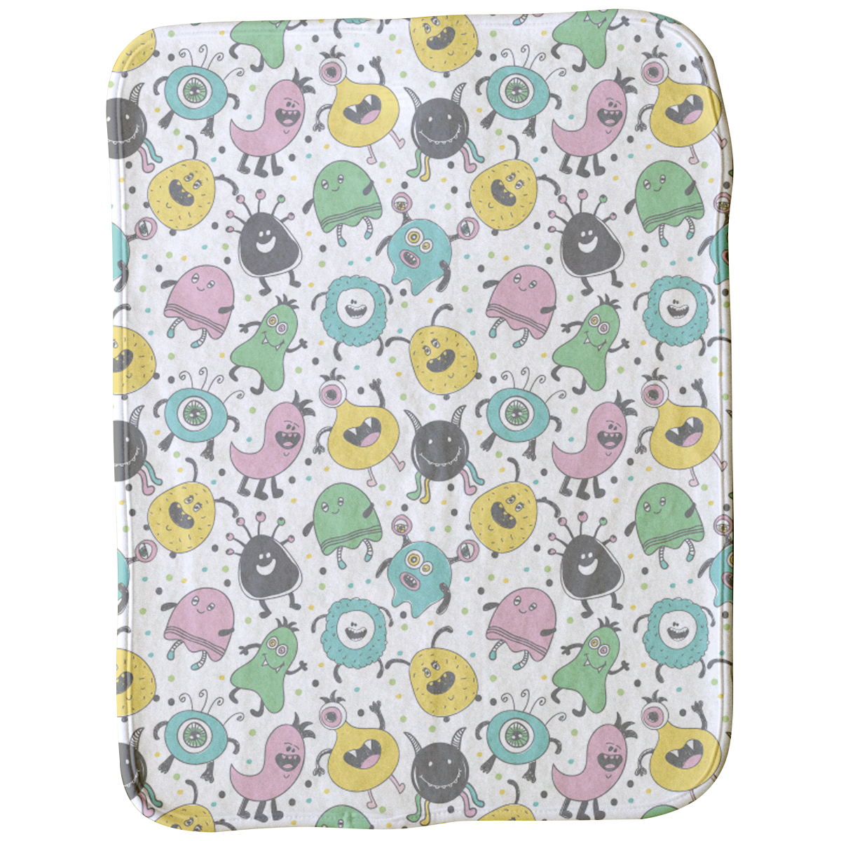 Little Monsters Burp Cloth
