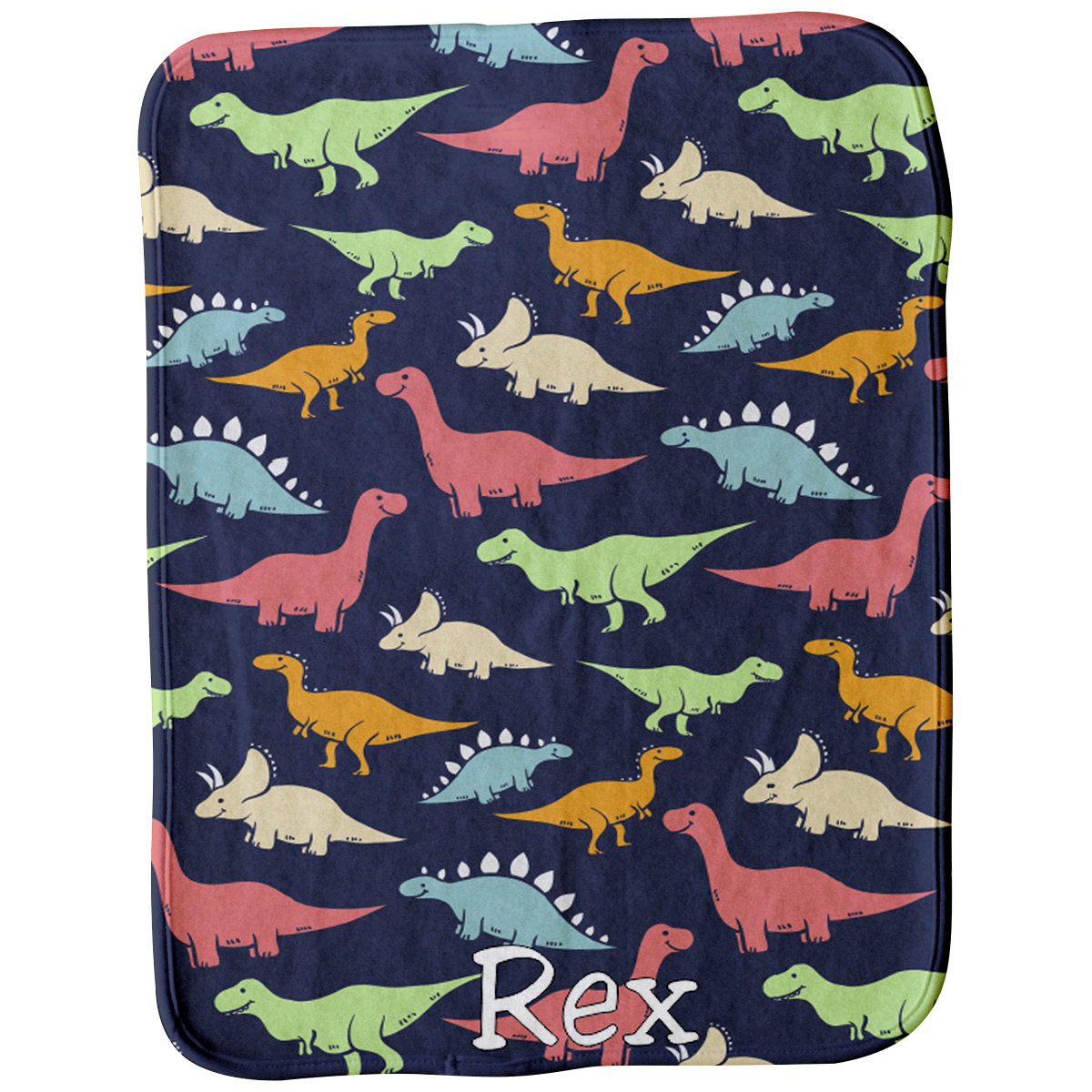 Dancing Dinos Burp Cloth