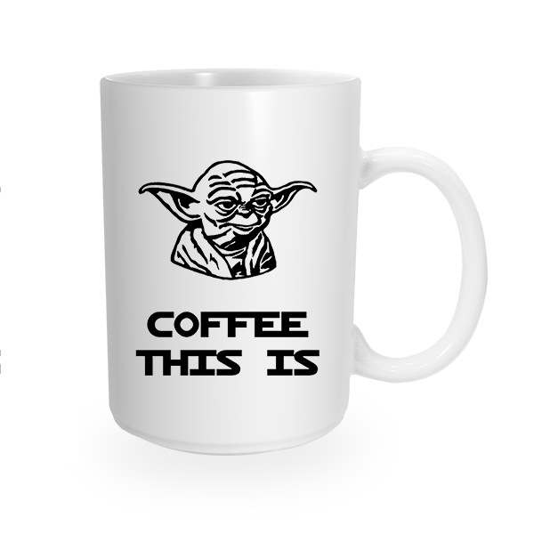 Coffee This Is Yoda Coffee Mug