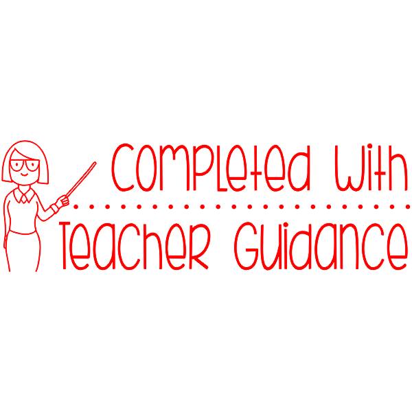 Completed With Guidance Teacher Stamp