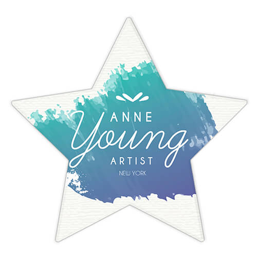 Custom Logo Star Paperweight