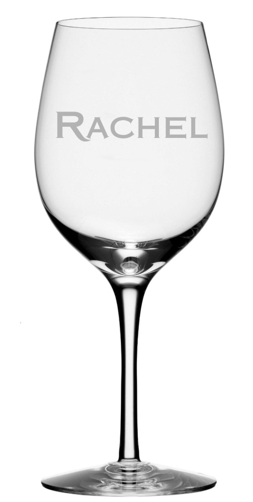 Custom Name Wine Glass