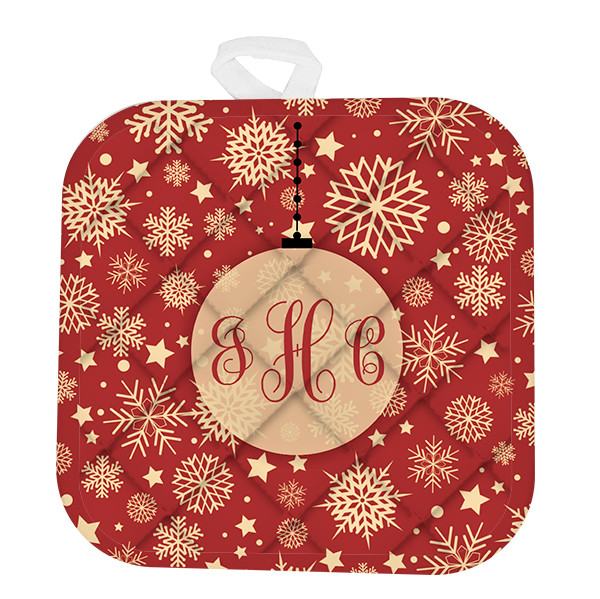 Custom Monogram Ornament Pot Holder