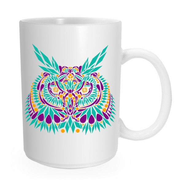 Owl Double Sided Coffee Mug