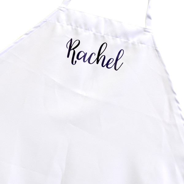 Custom Trendy Name Cooking Apron