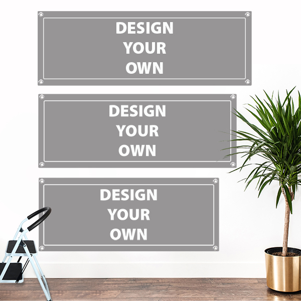 Design Your Own Banner