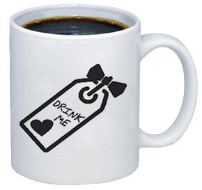 Drink Me Coffee Mug