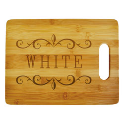 Fancy Deco Cutting Board Large
