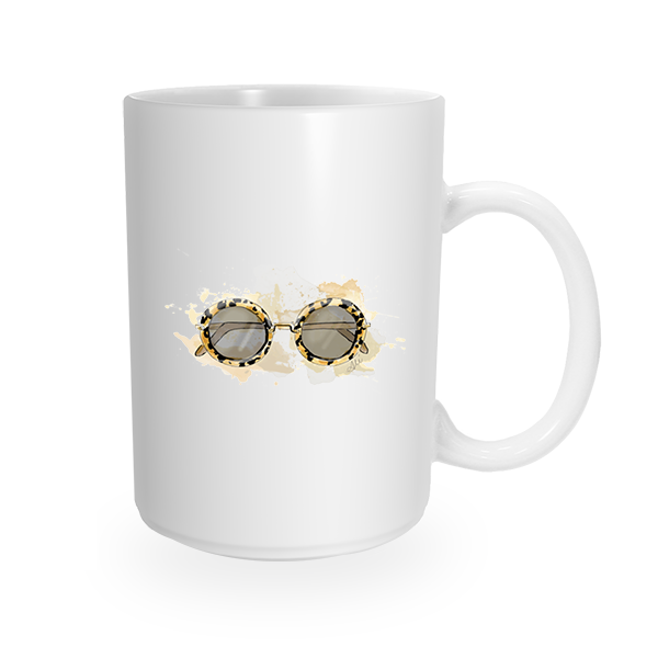 Groupie Shades Coffee Mug by The AG Studio