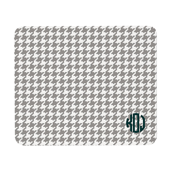Houndstooth Rectangular Mouse pad