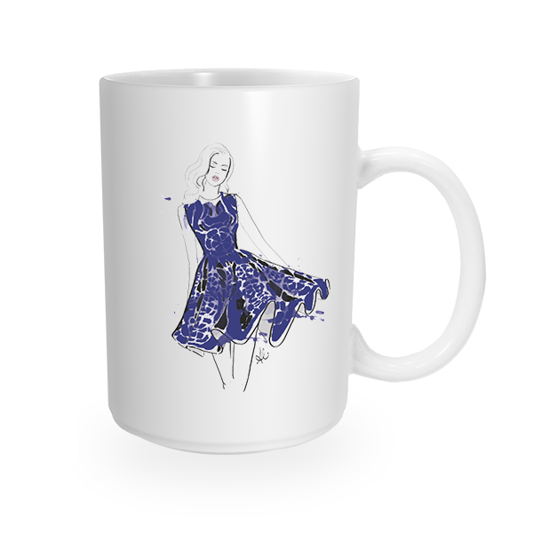 Katie Coffee Mug by The AG Studio