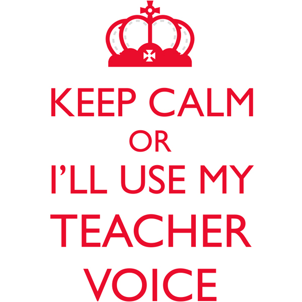 Keep Calm Teacher Poster Sign