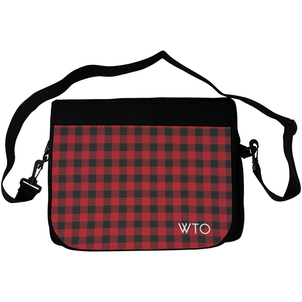 Lumberjack Plaid Laptop Bag