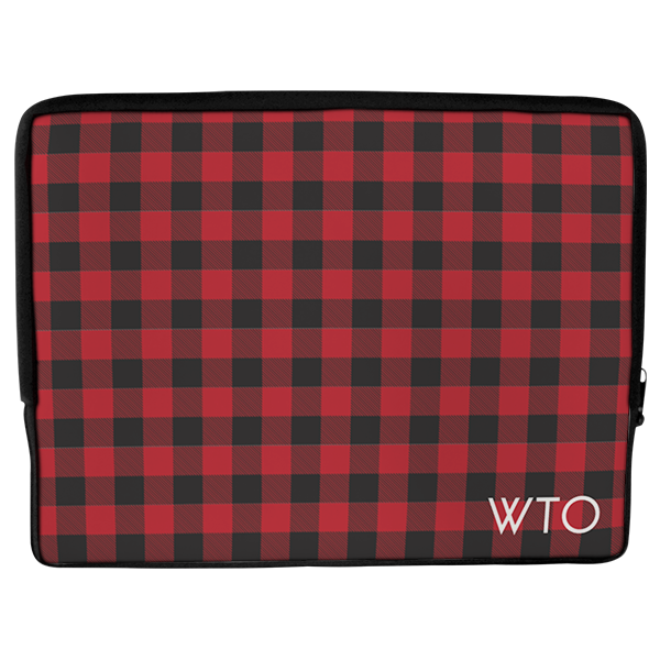 Lumberjack Plaid Laptop Cover