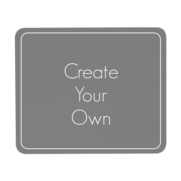 Create Your Own Rectangular Mouse pad
