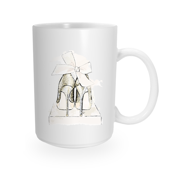 Party Shoes Coffee Mug by The AG Studio