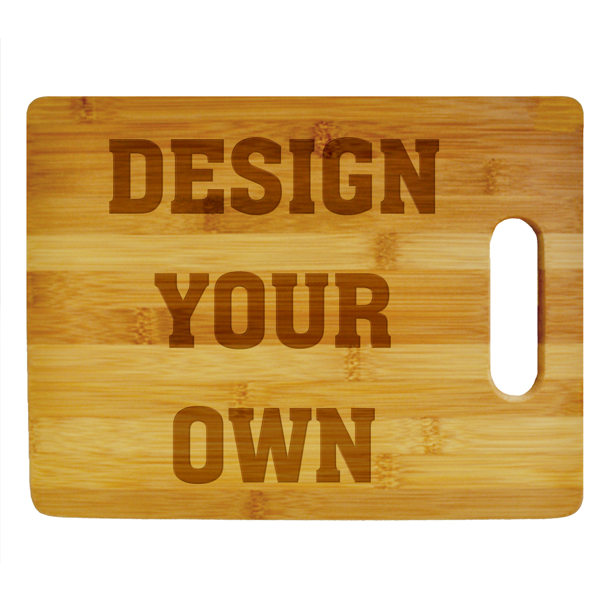 Personalize Your Own Cutting Board (Horizontal)