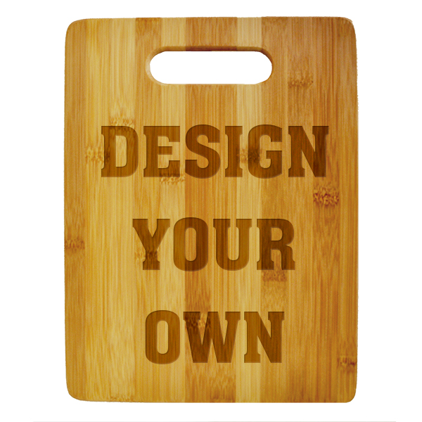 Personalize Your Own Cutting Board (Vertical)