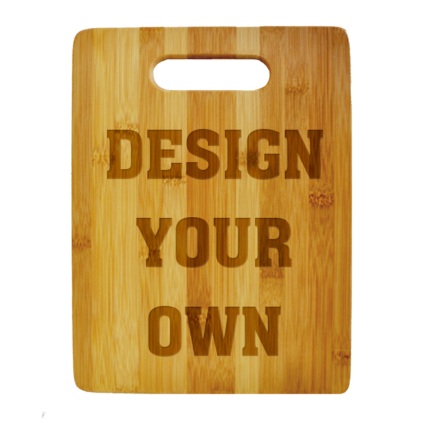 Personalize Your Own Small Vertical Cutting Board