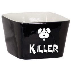 Pet Bowl Custom Engraved Name Doggy Face