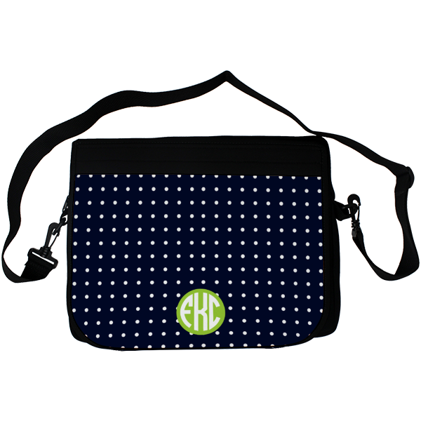 Polka Dot Laptop Bag