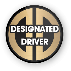 Posh Designated Driver Button