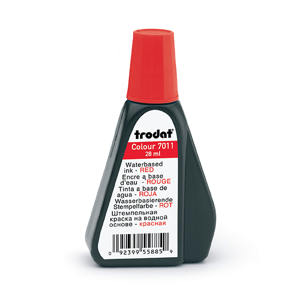 Red 1 oz Refill Ink - Self Inking