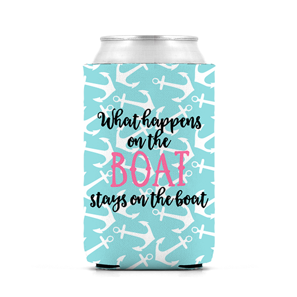 What Happens on the Boat Koozie