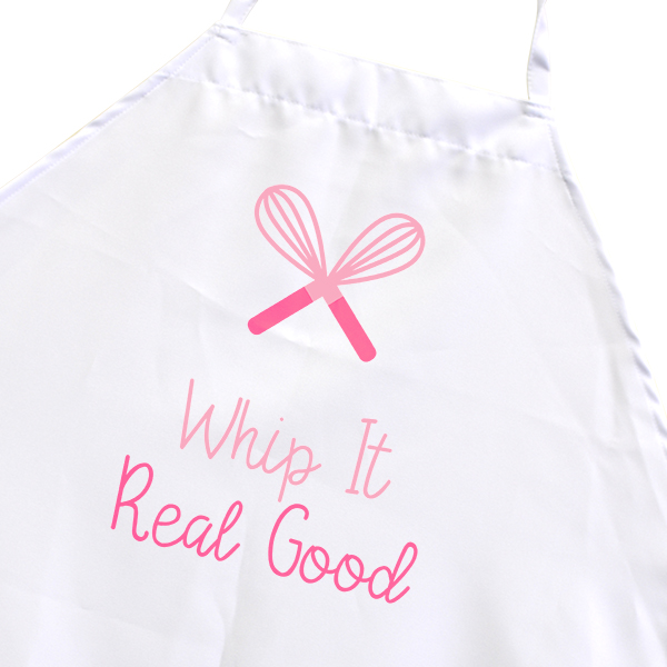 Whip It Real Good Funny Baking Cooking Apron