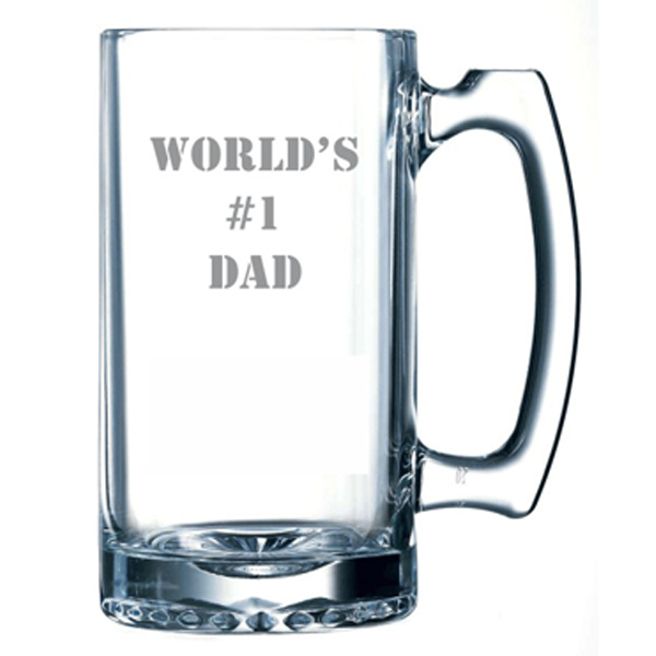 World's #1 Dad Beer Mug